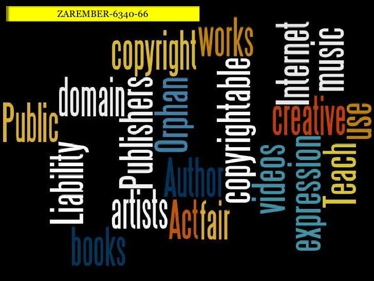 Copyright<br />ZAREMBER-6340-66<br />Norma Zarember<br />EDTC <br />6340<br />