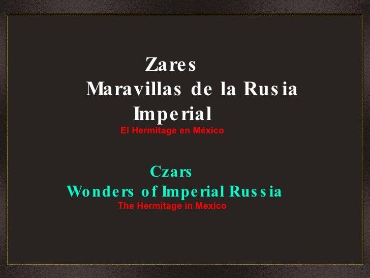 Zares Maravillas De La Rusia Imperial