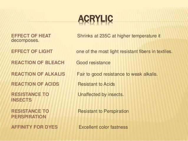 Properties And Uses of Acrylic fiber