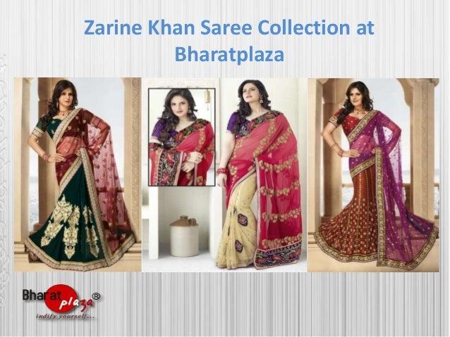 Zarine khan saree collection at bharatplaza