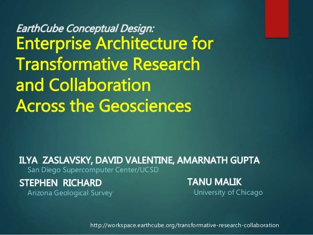 AHM 2014: Enterprise Architecture for Transformative Research and Collaboration Across Geoscinces