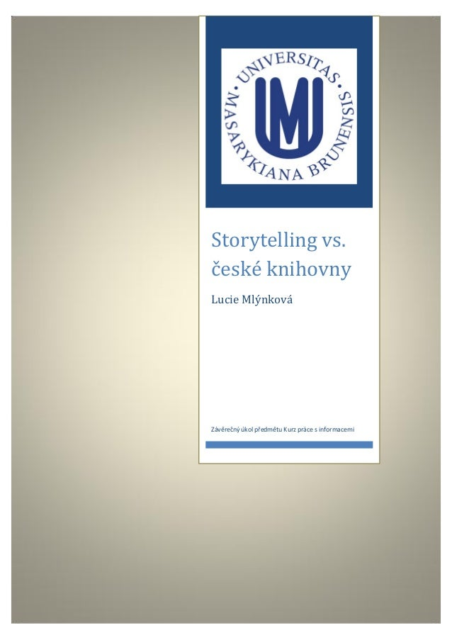 Storytelling vs. české knihovny