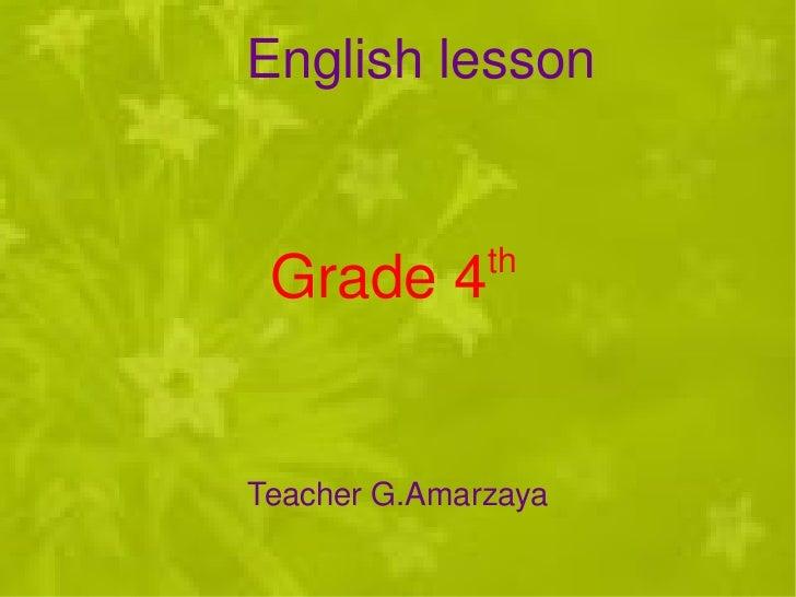 Zaya thahim hicheel 4th grade