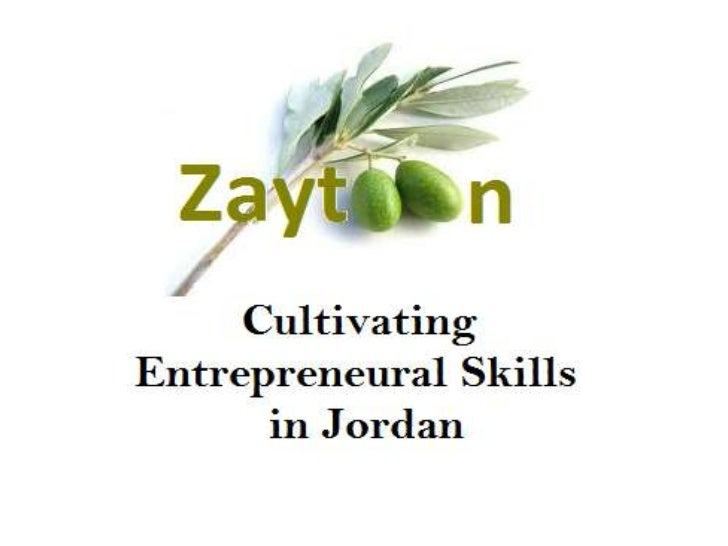 Zaytoon Info Session PowerPoint