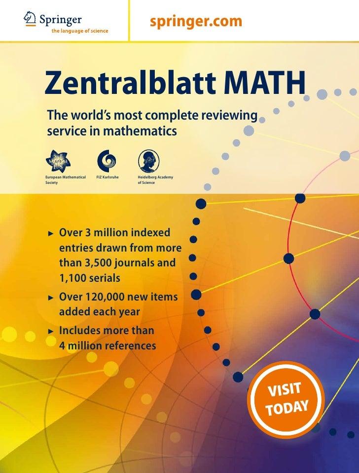 Zentralblattmath brochure