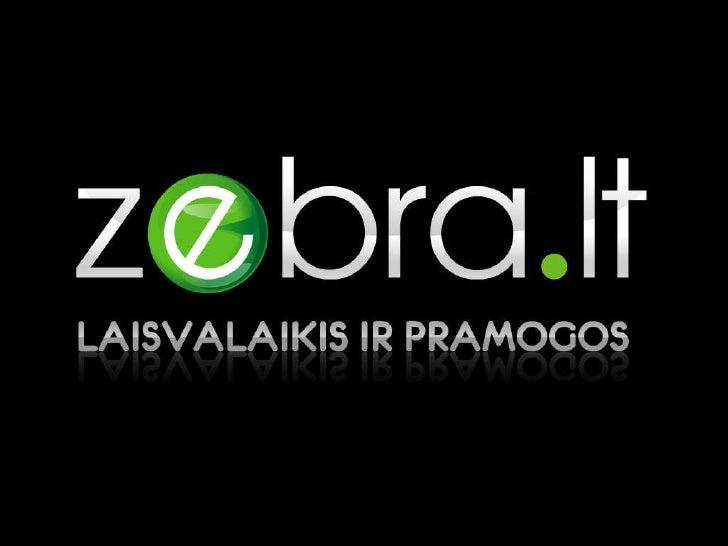 Zebra lt ppt 2011 tinklalapiui