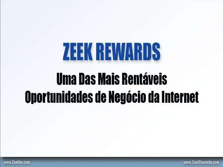 apresentação zeek rewards