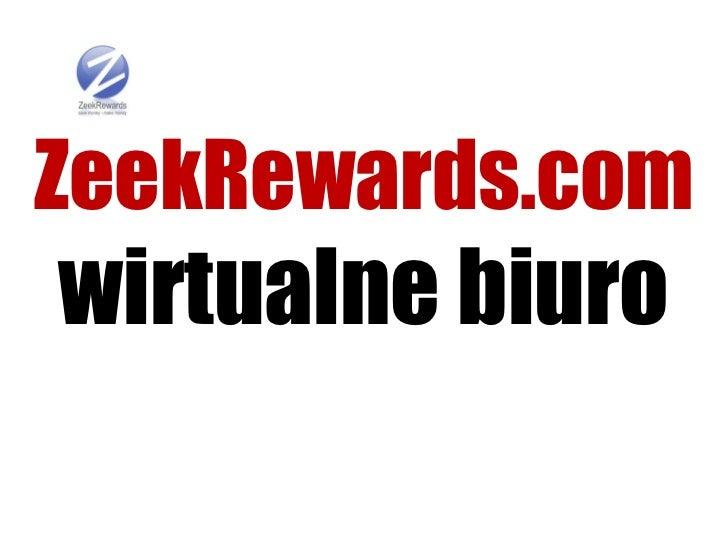 ZeekRewards.comwirtualne biuro