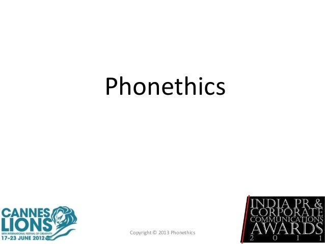 Phonethics Copyright © 2013 Phonethics