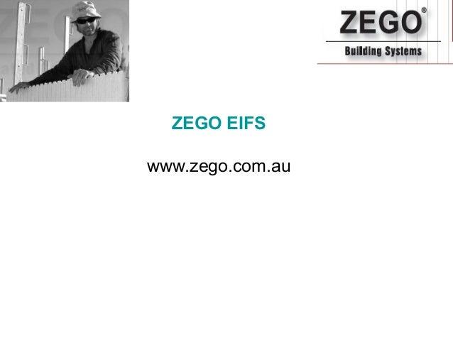ZEGO EIFS Gallery