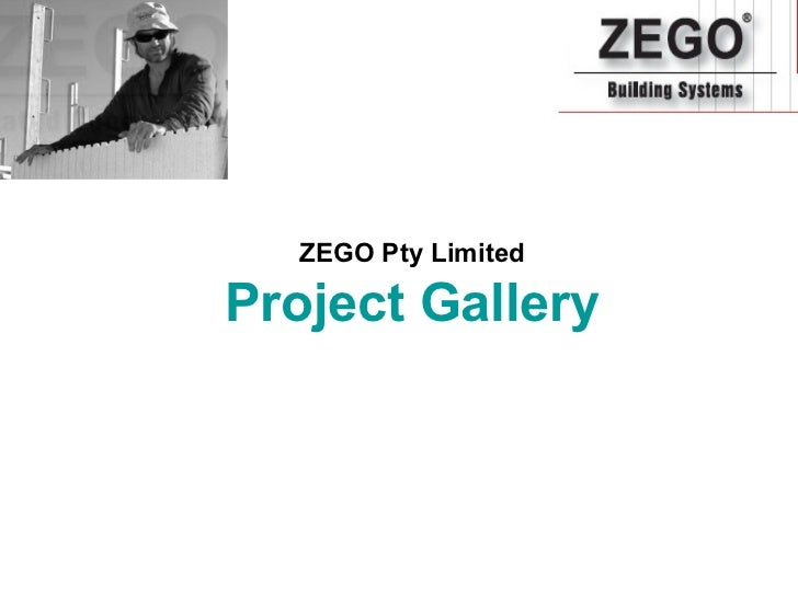 ZEGO Pty LimitedProject Gallery