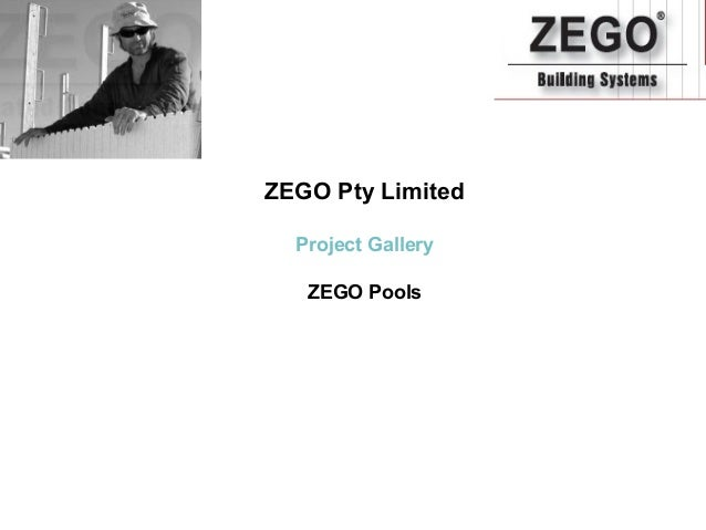 ZEGO Pty Limited  Project Gallery   ZEGO Pools