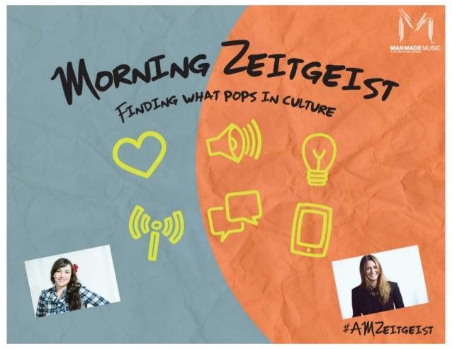 Morning Zeitgeist - March 2015