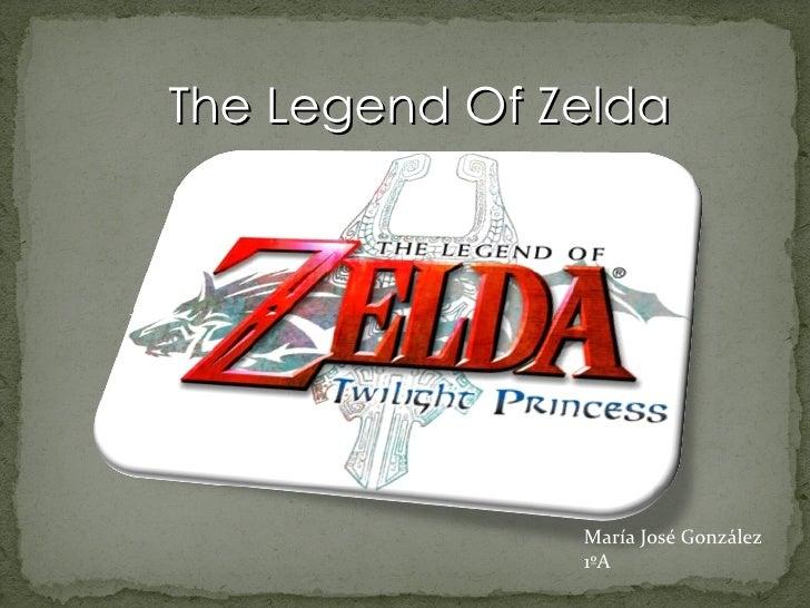 The Legend Of Zelda María José González 1ºA