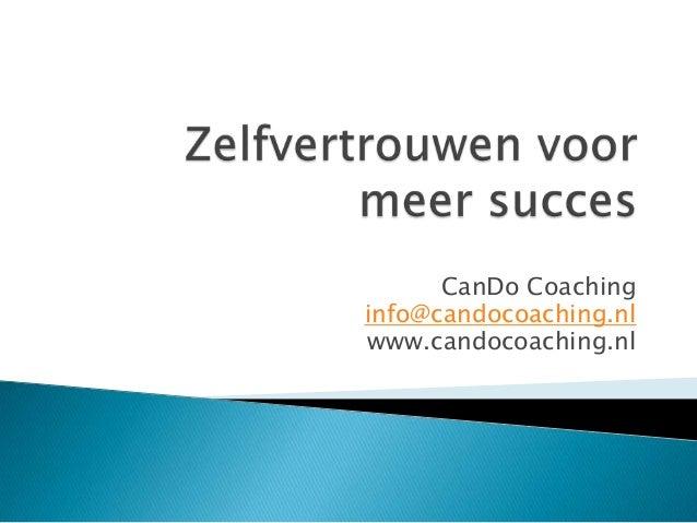 CanDo Coachinginfo@candocoaching.nlwww.candocoaching.nl
