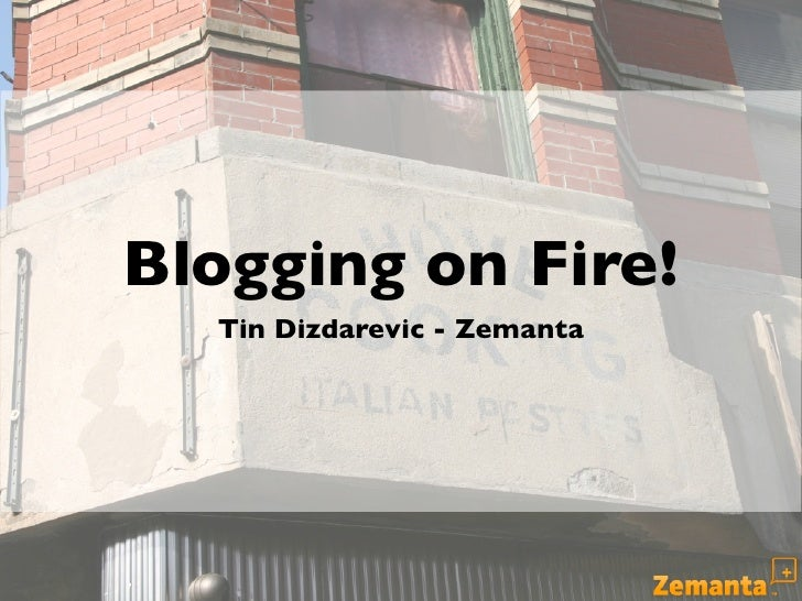 Business Blogging on Fire! - Effective Strategies for Corporate Blogging