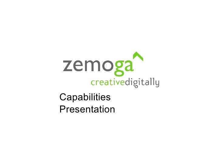 Zemoga Capabilities Presentation