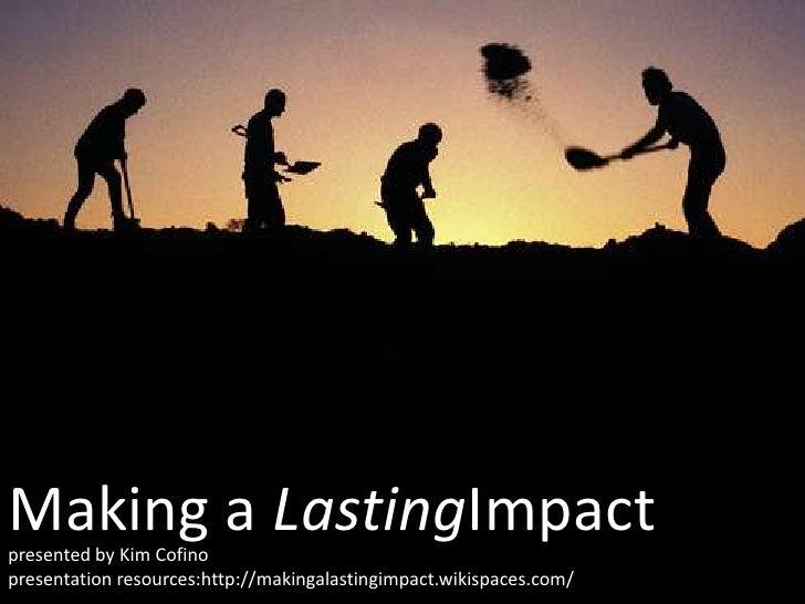 Making A Lasting Impression (Version 2)