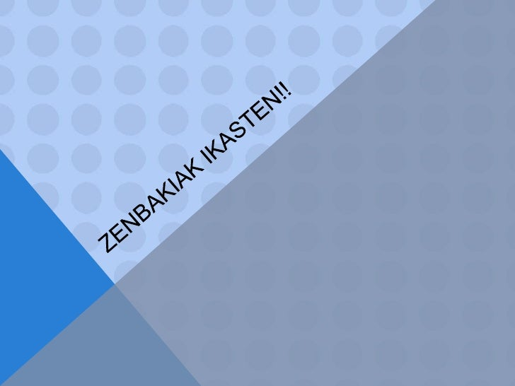 Zenbakiakikasten!!<br />