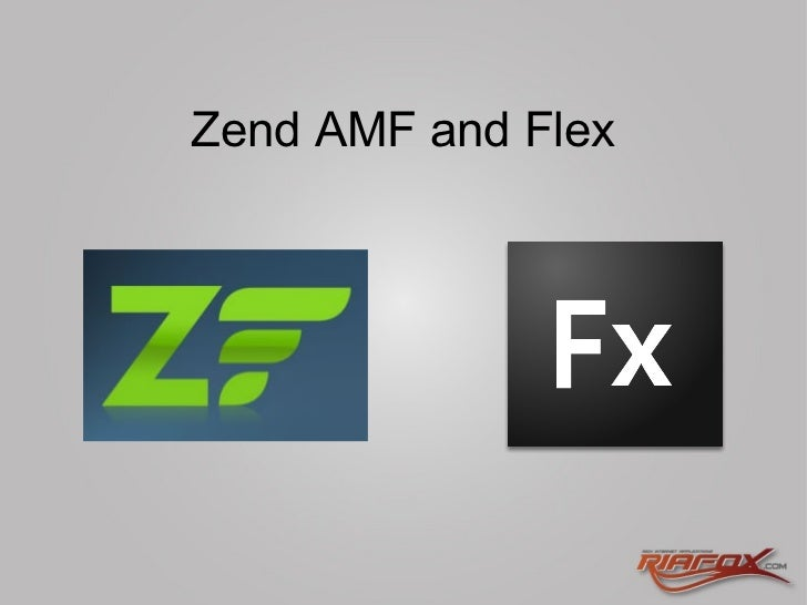 Zend AMF and Flex