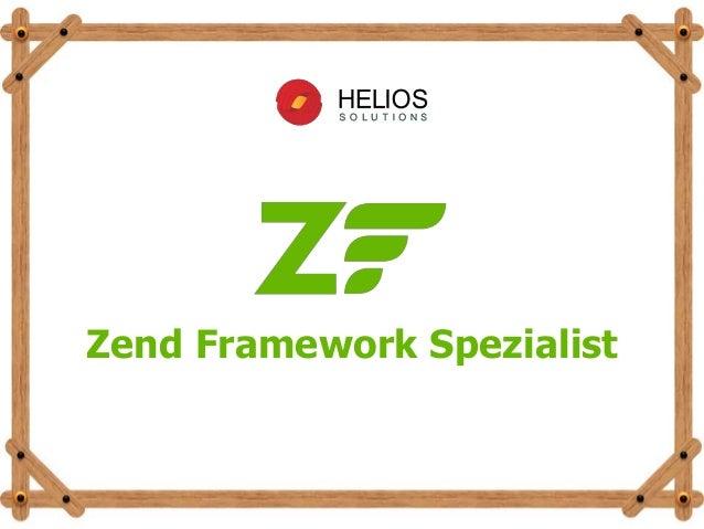 Zend Framework Spezialist