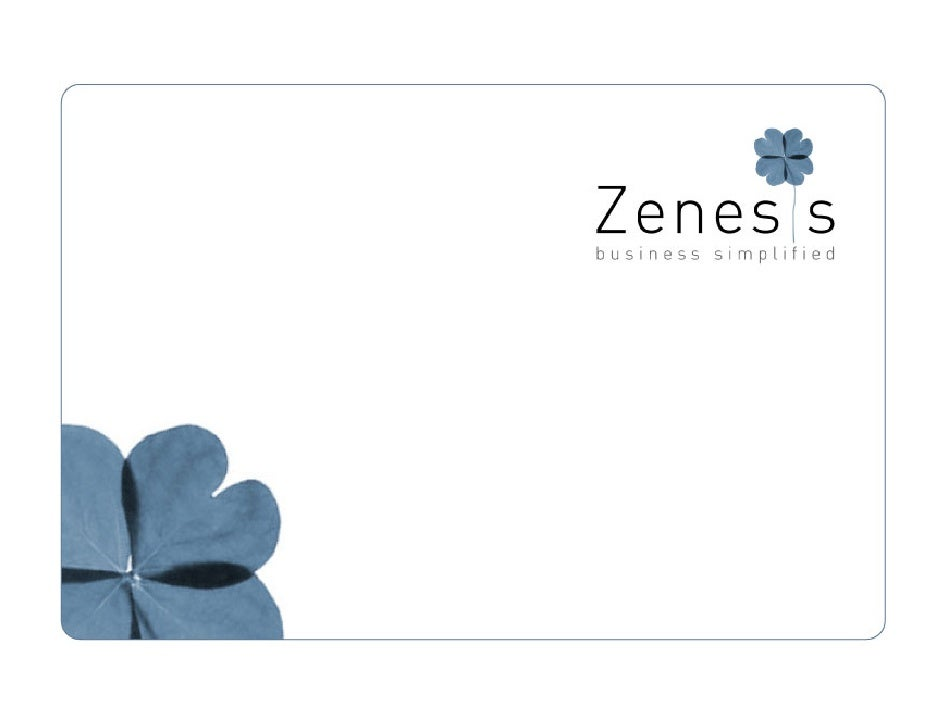 Zenesis Company Profile