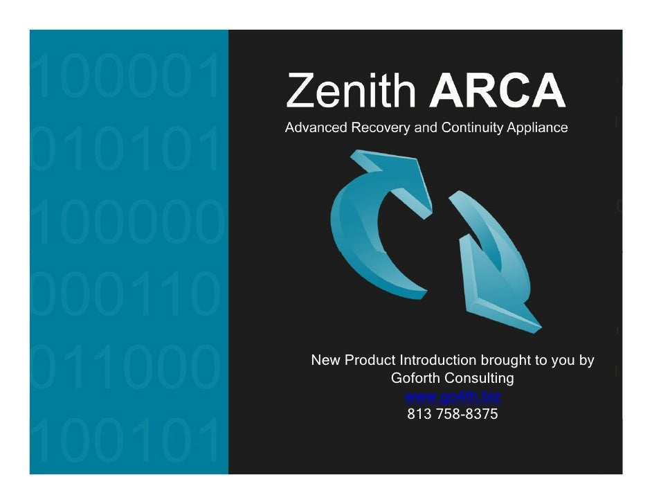 Zenith Arca Business Introduction