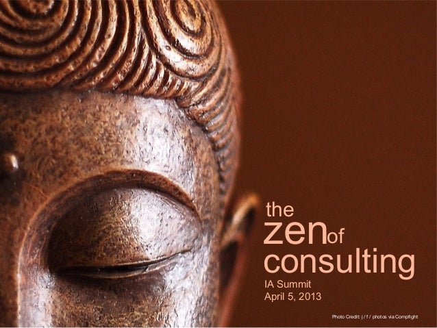 Zen of consulting_ias13