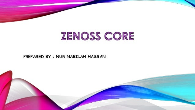 Zenoss presentation (nur nabilah hassan)