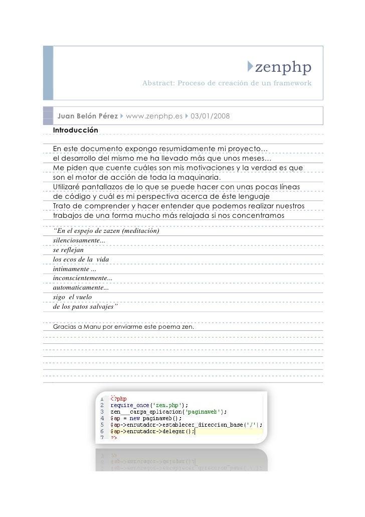 Zenphp - Programador PHP