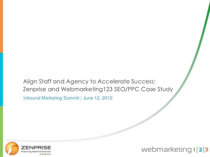 Zenprise case study : inbound marketing summit