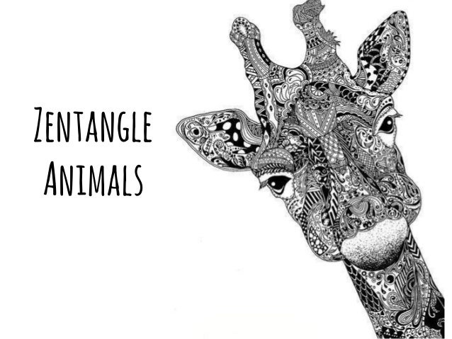 Gallery For gt Simple Zentangle Animals