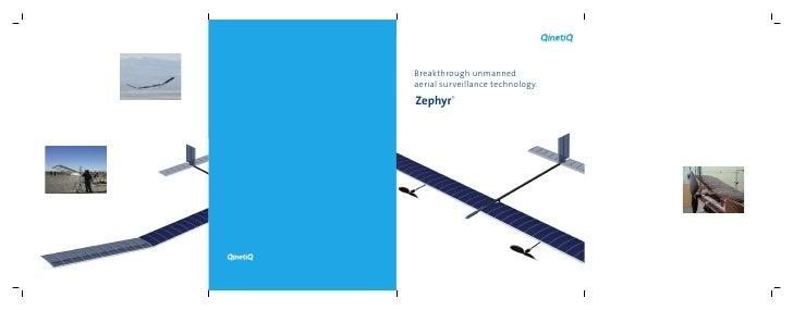 Breakthrough unmanned aerial surveillance technology. Zephyr®