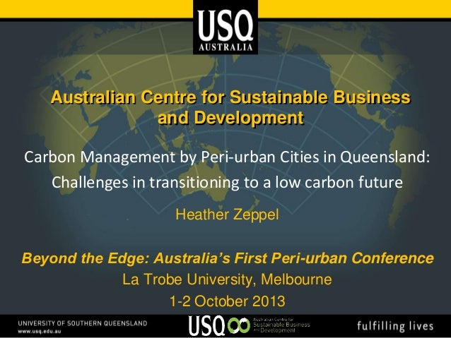 Zeppel_H_Carbon management in peri-urban cities in Queensland