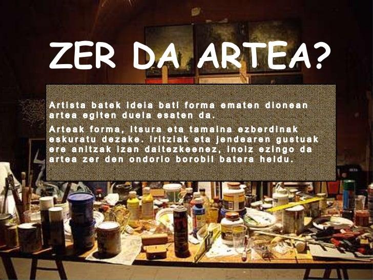 Zer da artea lauro ikastola 2011
