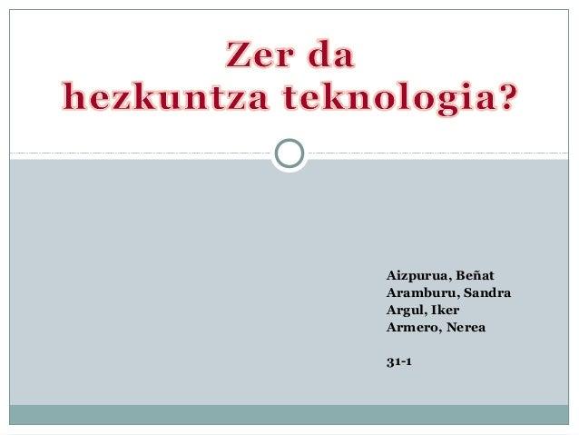 Aizpurua, Beñat Aramburu, Sandra Argul, Iker Armero, Nerea 31-1