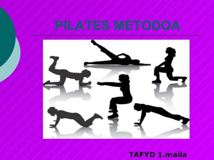 Pilates metodoa