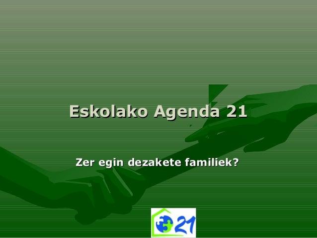 Zer egin dezakete_familiek