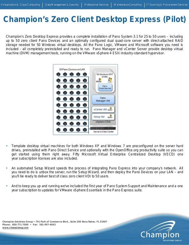 Champion Solutions Group • 791 Park of Commerce Blvd., Suite 200 Boca Raton, FL 33487 Phone: 800-771-7000 • Fax: 561-997-4...