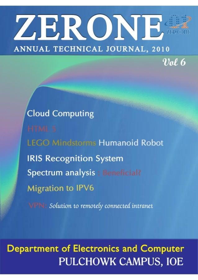 ZERONE 2010 - Annual Technical Journal, IOE, Nepal