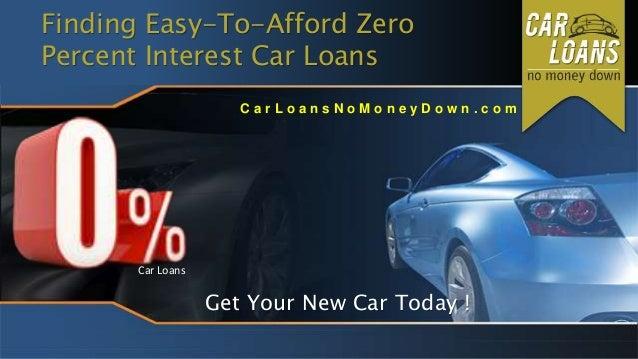 Zero percent interest deals on cars