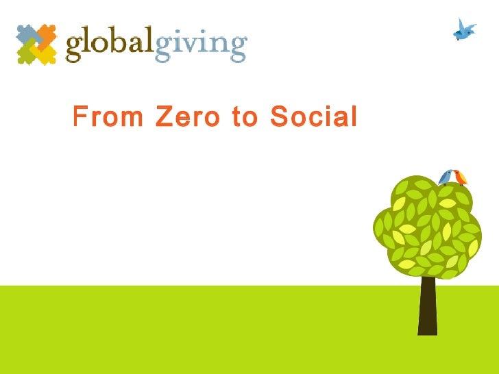 Zero to social 101