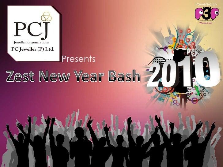 Zest New Year Bash2010
