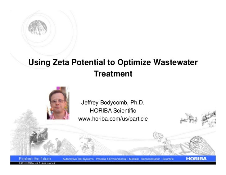 Using Zeta Potential to Optimize Wastewater                          Treatment                                            ...