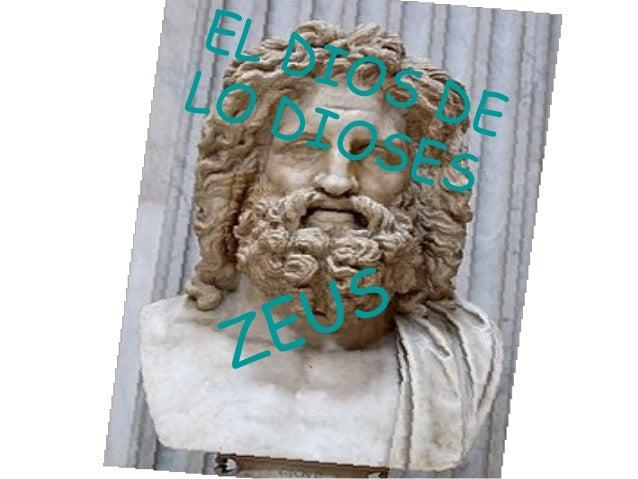 ZEUS EL DIOS DELO DIOSES