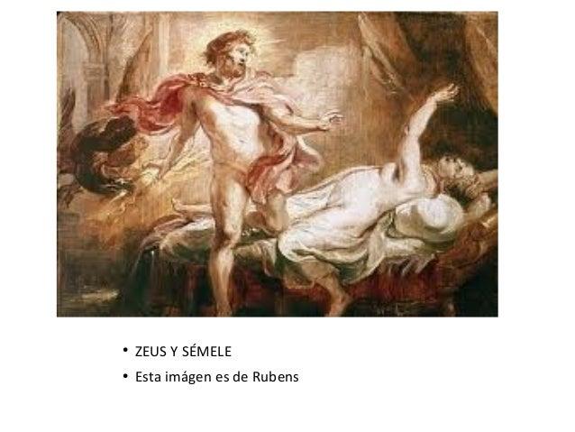 ●ZEUS Y SÉMELE●Esta imágen es de Rubens