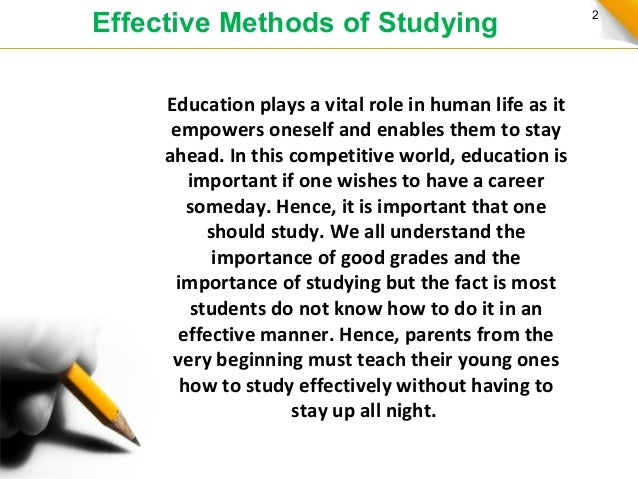 Homework is it effective