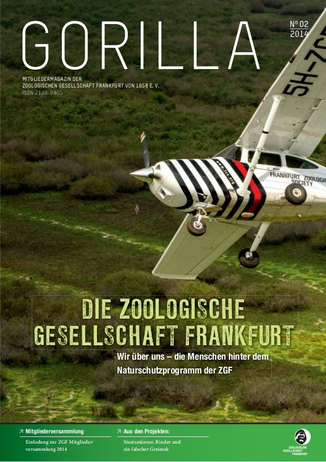 Der neue ZGF GORILLA ist da! - Latest edition of GORILLA magazine available now!