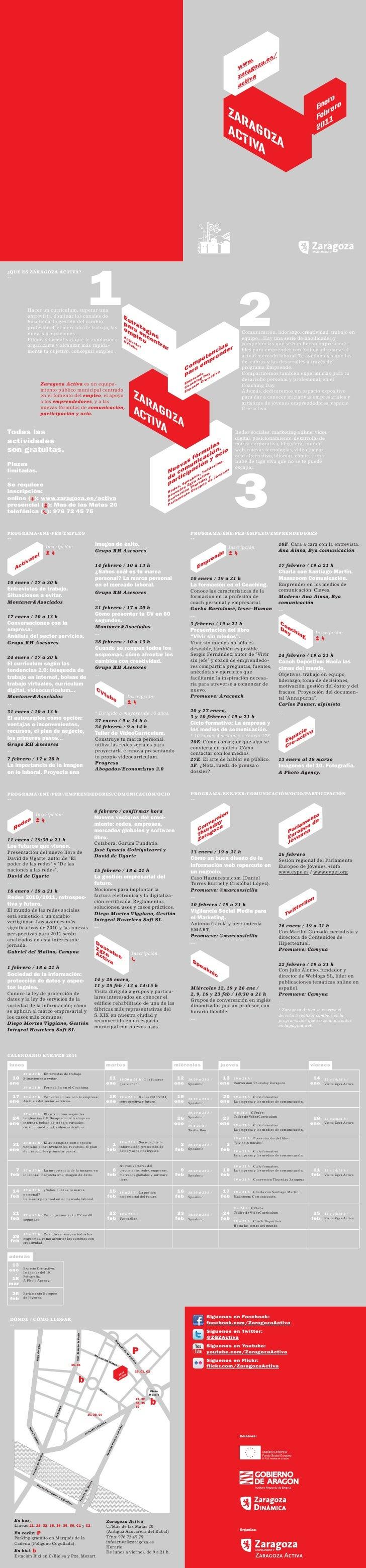 Programación Enero Febrero 2011