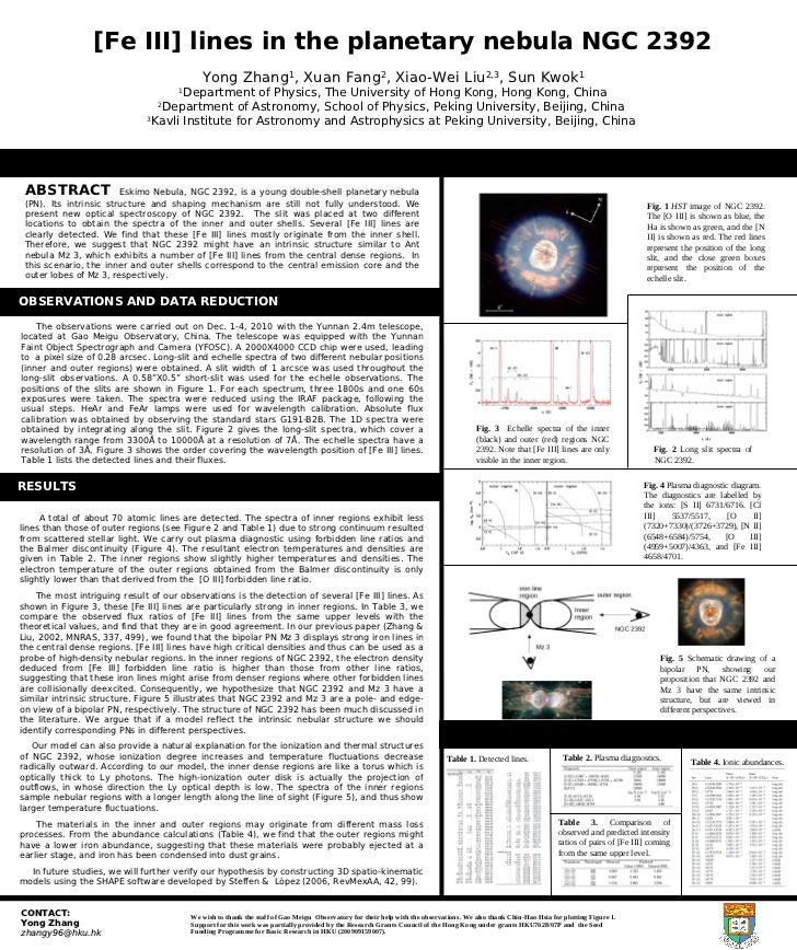 [Fe III] lines in the planetary nebula NGC 2392                                             Yong Zhang , Xuan Fang , Xiao-...